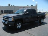2011 Taupe Gray Metallic Chevrolet Silverado 1500 LT Extended Cab 4x4 #48581542