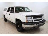 2004 Summit White Chevrolet Silverado 1500 Z71 Crew Cab 4x4 #48521163