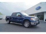 2011 Dark Blue Pearl Metallic Ford F150 XLT SuperCrew #48581317