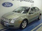 2008 Moss Green Metallic Ford Fusion SE #48663427