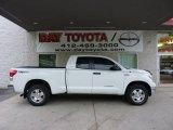 2008 Super White Toyota Tundra SR5 TRD Double Cab 4x4 #48663226
