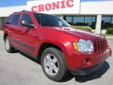 2006 Inferno Red Crystal Pearl Jeep Grand Cherokee Laredo #48663445