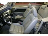 2006 Ford Mustang GT Premium Convertible Light Graphite Interior