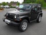 2011 Black Jeep Wrangler Sahara 4x4 #48663895