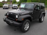 2011 Black Jeep Wrangler Rubicon 4x4 #48663899