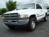 2001 Bright White Dodge Ram 1500 SLT Club Cab 4x4 #48663274