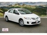2011 Super White Toyota Corolla 1.8 #48663092