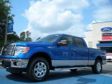 2011 Blue Flame Metallic Ford F150 XLT SuperCrew 4x4 #48663332