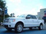 2011 White Platinum Metallic Tri-Coat Ford F150 Platinum SuperCrew 4x4 #48663343