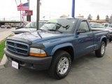 2003 Atlantic Blue Pearlcoat Dodge Dakota SXT Regular Cab #48663953