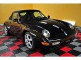 1995 Black Porsche 911 Carrera Cabriolet #48663712