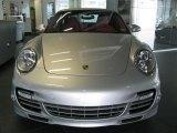 2011 Porsche 911 Silver Metallic Paint to Sample