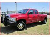 2004 Dodge Ram 3500 Flame Red