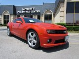 2010 Inferno Orange Metallic Chevrolet Camaro SS Coupe #48663742