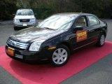 2008 Black Ebony Ford Fusion S #48663407