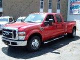 2010 Vermillion Red Ford F350 Super Duty XLT Crew Cab Dually #48664018