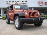 2011 Mango Tango Pearl Jeep Wrangler Sport S 4x4 #48663771