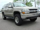 2001 Light Pewter Metallic Chevrolet Suburban 1500 LT 4x4 #48663186