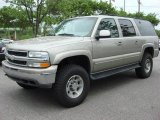 Light Pewter Metallic Chevrolet Suburban in 2001