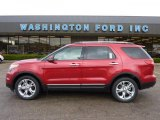 2011 Red Candy Metallic Ford Explorer Limited 4WD #48663581