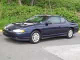 2000 Chevrolet Monte Carlo Medium Regal Blue Metallic