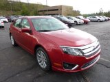 2011 Red Candy Metallic Ford Fusion SEL #48731639