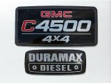GMC C Series TopKick 2007 Badges and Logos
