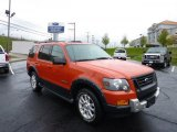 2008 Ford Explorer Orange Frost Metallic