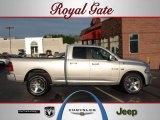 2010 Bright Silver Metallic Dodge Ram 1500 Sport Quad Cab 4x4 #48731582