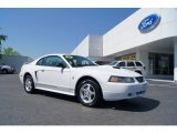 2001 Oxford White Ford Mustang V6 Coupe #48731667