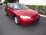 2002 Firepepper Red Pearl Honda Accord SE Sedan #48731558