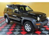 2002 Black Jeep Liberty Sport 4x4 #48731740