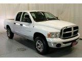 2005 Bright White Dodge Ram 1500 SLT Quad Cab 4x4 #48731677