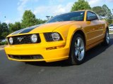 2007 Grabber Orange Ford Mustang GT Premium Coupe #48731626