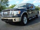 2010 Tuxedo Black Ford F150 Lariat SuperCrew #48731630