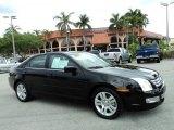 2008 Black Ebony Ford Fusion SEL #48731633