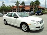 2008 White Suede Ford Fusion S #48731634