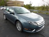 2011 Steel Blue Metallic Ford Fusion SEL V6 #48731638