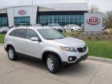 2011 Bright Silver Kia Sorento LX AWD #48731768