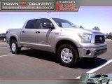 2008 Silver Sky Metallic Toyota Tundra SR5 CrewMax 4x4 #48752502