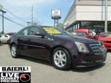 2009 Black Cherry Cadillac CTS 4 AWD Sedan #48752442