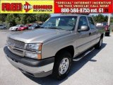 2003 Light Pewter Metallic Chevrolet Silverado 1500 LS Extended Cab 4x4 #48752513