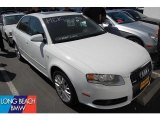 2008 Ibis White Audi A4 2.0T Special Edition Sedan #48770368