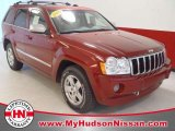 2006 Red Rock Crystal Pearl Jeep Grand Cherokee Overland #48769759