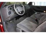 2002 Ford F150 FX4 SuperCab 4x4 Medium Graphite Interior