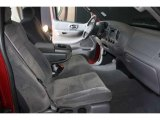 2002 Ford F150 FX4 SuperCab 4x4 Medium Graphite Interior