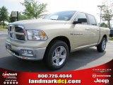 2011 White Gold Dodge Ram 1500 Big Horn Crew Cab #48770264
