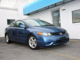 2007 Atomic Blue Metallic Honda Civic EX Coupe #48770135