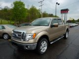 2011 Pale Adobe Metallic Ford F150 Lariat SuperCrew 4x4 #48770276