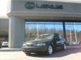 2002 Jet Black BMW 3 Series 325i Sedan #4862195